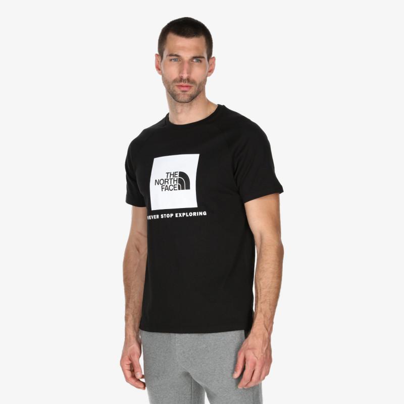 THE NORTH FACE t-shirt M S/S RAGLAN REDBOX TEE - EU
