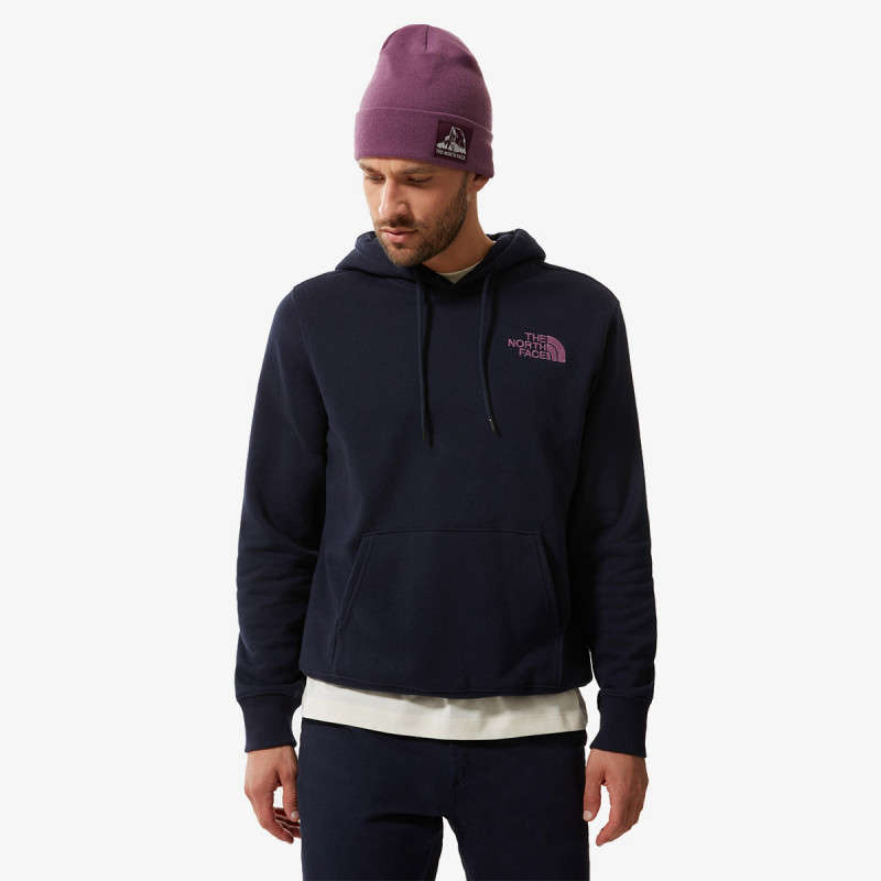 THE NORTH FACE majica s kapuljačom U WALLS ARE MEANT FOR CLIMBING P/O