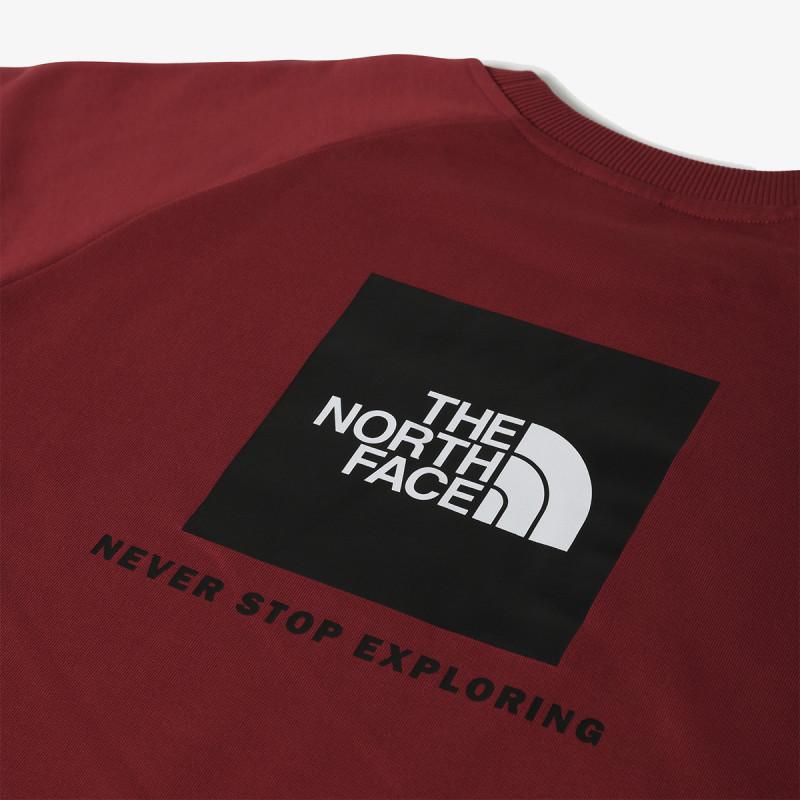 THE NORTH FACE majica bez kragne M RAGLAN REDBOX CREW - NEW - EU
