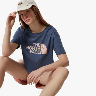 THE NORTH FACE t-shirt W CROPPED EASY TEE