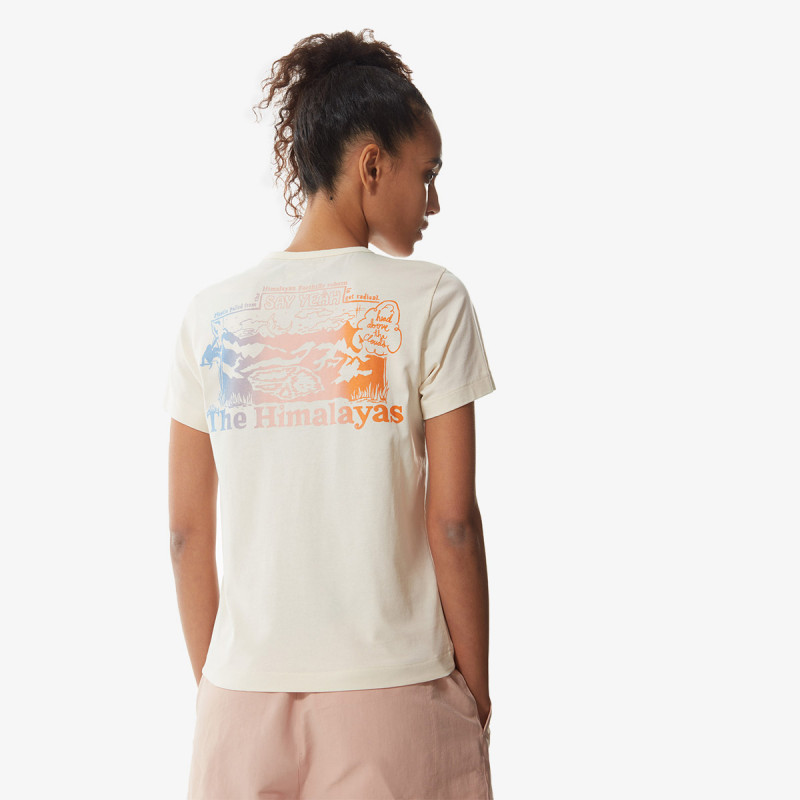 THE NORTH FACE t-shirt W S/S HIMALAYAN BOTTLE SOURCE TEE