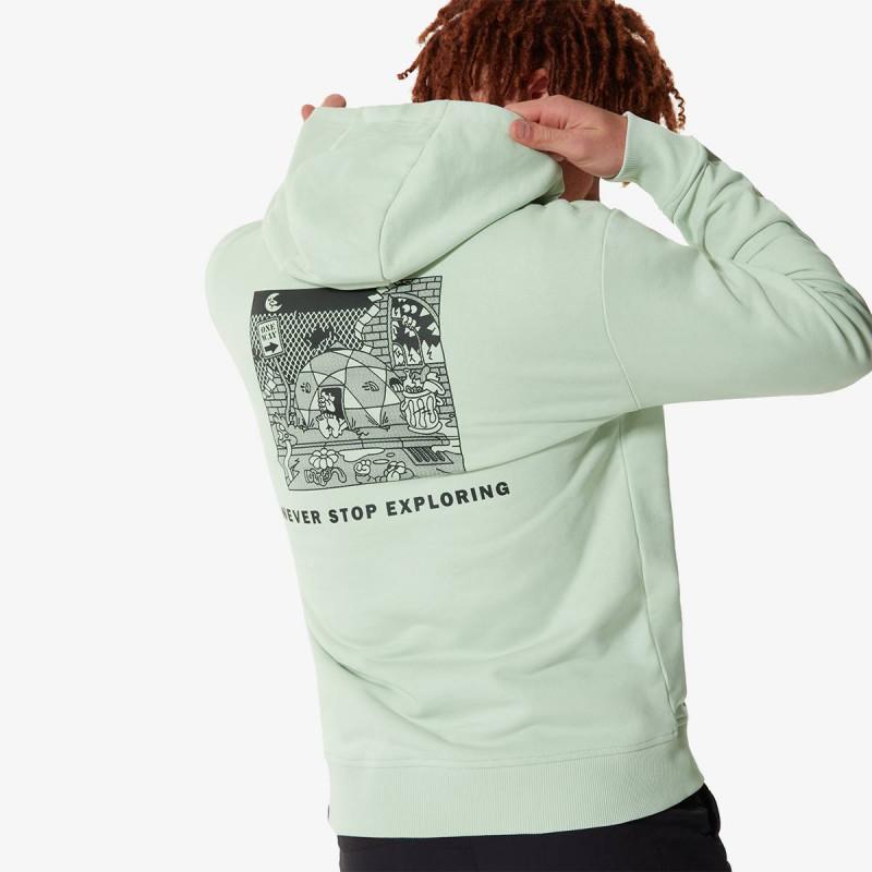 THE NORTH FACE majica s kapuljačom M BLACK BOX FLEECE - EU