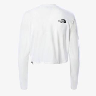 THE NORTH FACE t-shirt W LS CROP TEE - EU