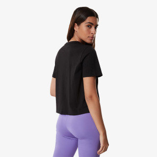 THE NORTH FACE t-shirt W FOUNDATION CROP TEE - EU