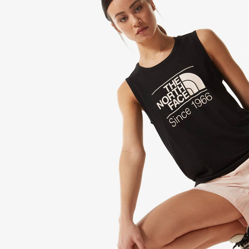 THE NORTH FACE top W FOUNDATION GRAPHIC - EU