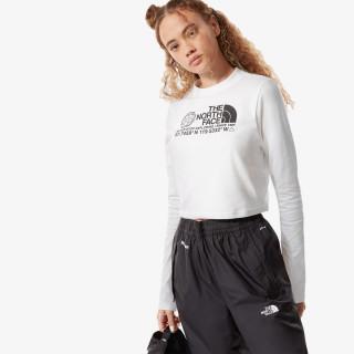 THE NORTH FACE majica dugih rukava W COORDINATES L/S CON TEE
