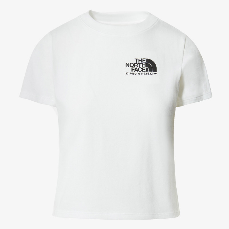 THE NORTH FACE t-shirt W COORDINATES S/S TEE