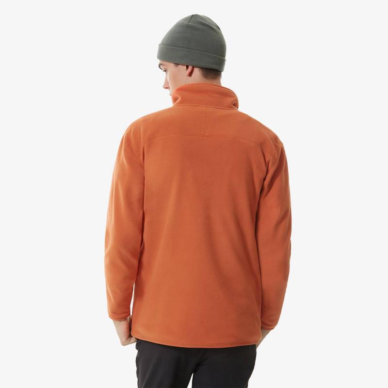 THE NORTH FACE majica dugih rukava s polu patentom M 100 GLACIER 1/4 ZIP - EU