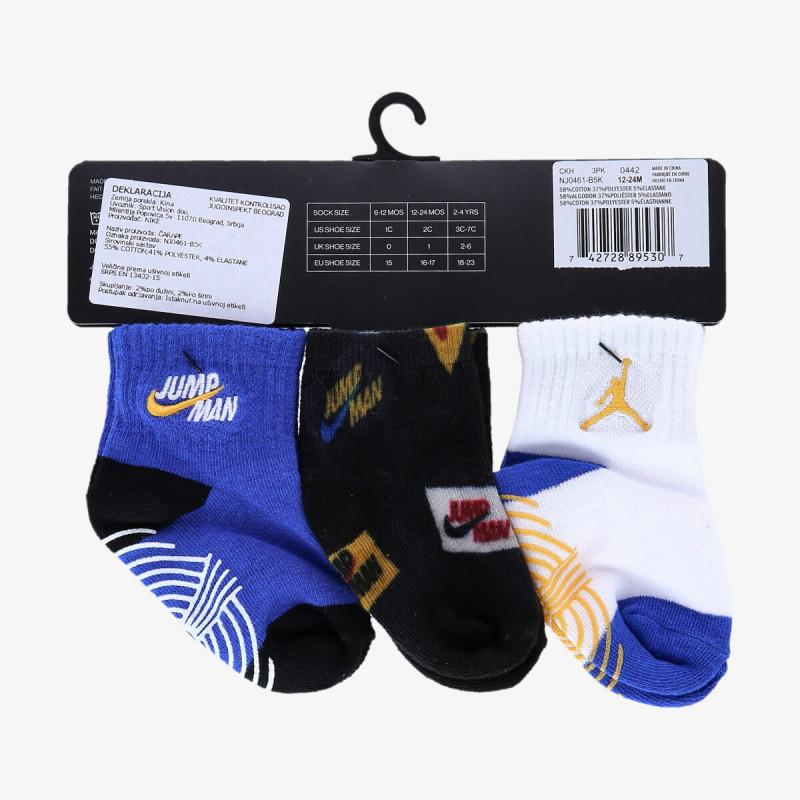 NIKE dječje čarape JORDAN JHN JUMPMAN Z