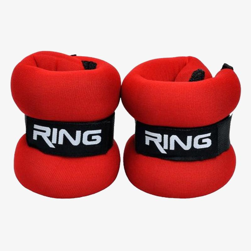 RING SPORT fitness oprema utezi sa čičkom 2x4kg