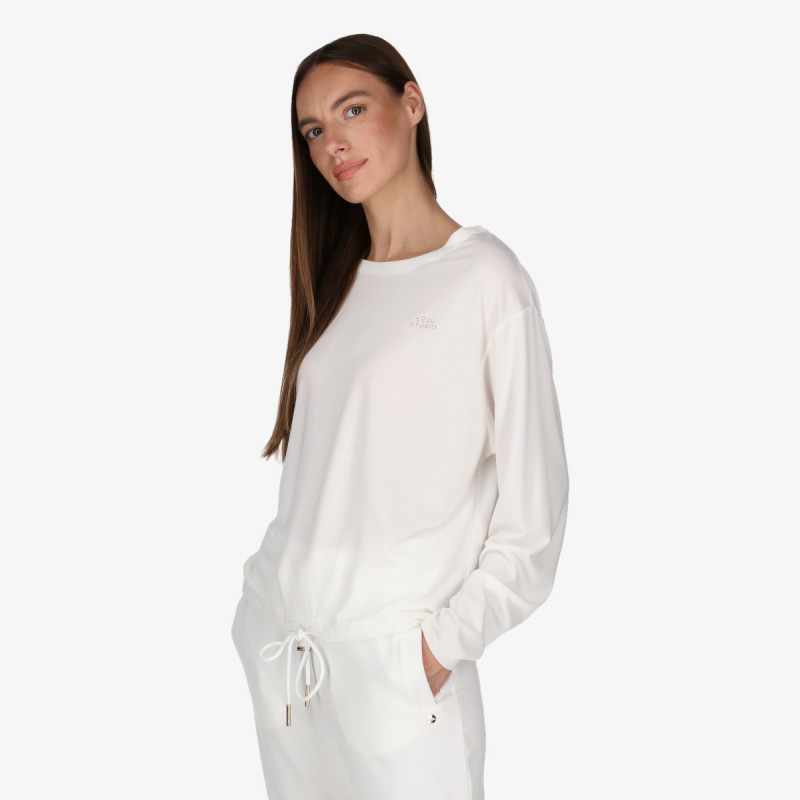 LUSSARI majica bez kragne LOUNGE BOYFRIEND CREW