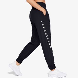 UNDER ARMOUR hlače Woven WM Graphic Pants