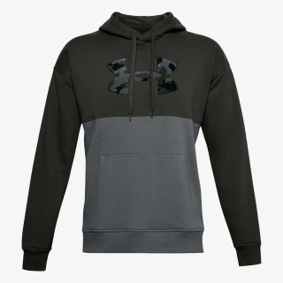 UNDER ARMOUR majica s kapuljačom RIVAL FLC COLORBLOCK HD