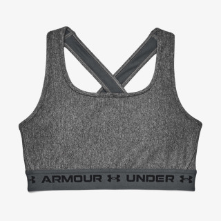 UNDER ARMOUR grudnjak CROSSBACK MID HEATHER