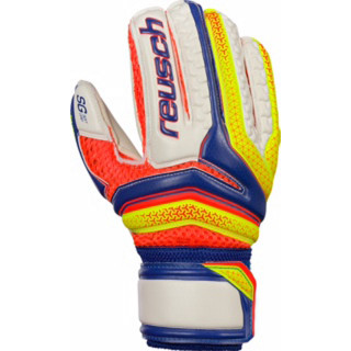 REUSCH dječje golmanske rukavice SERATHOR SG FINGER SUPP.JR. BLUE/YELLOW