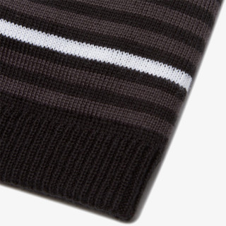 SALOMON beanie FLATSPIN SHORT Black/Ebony/White