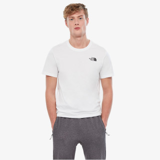 NORTH FACE t-shirt M S/S RED BOX TEE TNF WHITE