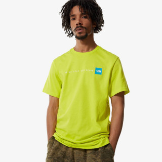 THE NORTH FACE t-shirt M S/S NEVER STOP EXPLORING TEE - EU