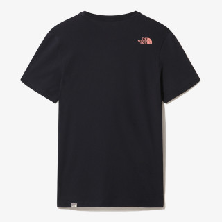 NORTH FACE t-shirt M S/S SIMPLE DOME TE AVIATOR NAVY