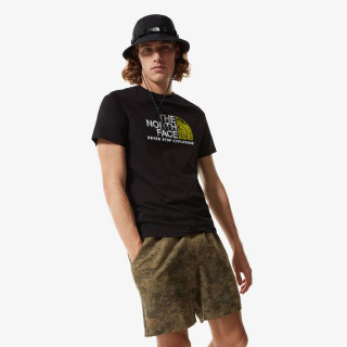 THE NORTH FACE t-shirt M S/S RUST 2 TEE