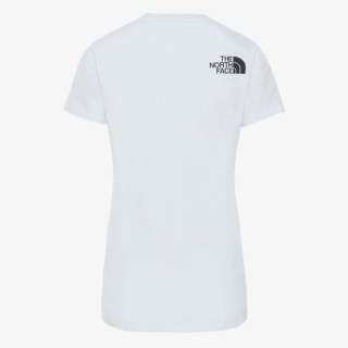 NORTH FACE t-shirt W S/S HD TEE TNF WHITE