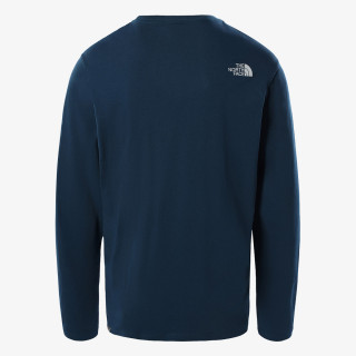 THE NORTH FACE t-shirt M L/S IMAGE IDEALS TEE