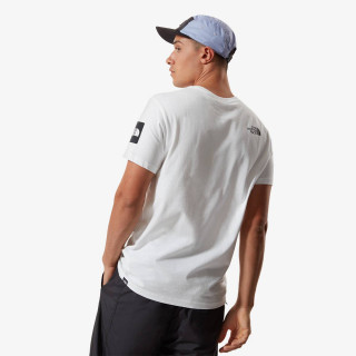 THE NORTH FACE t-shirt M BLACK BOX SS GRAPHIC TEE - EU