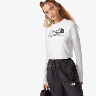 THE NORTH FACE majica dugih rukava W COORDINATES L/S CON TEE