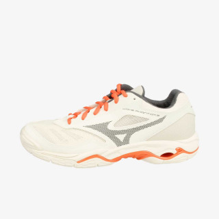 MIZUNO  tenisice WAVE PHANTOM 2 SNOW WHITE / QUIET SHADE / HOT CORAL