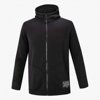 UNDER ARMOUR majica s kapuljačom na patent BASELINE FLEECE