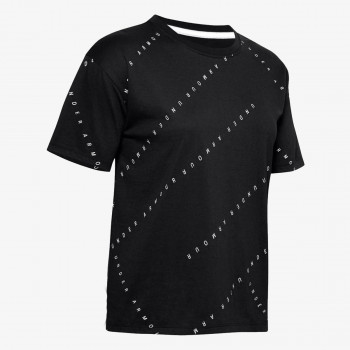 UNDER ARMOUR t-shirt Logo Print Live SS