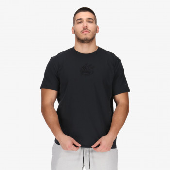 UNDER ARMOUR t-shirt CURRY EMBROIDERED UNDRTD TEE