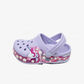 CROCS dječje sandale FUN LAB UNICORN BAND CLOG KIDS
