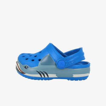 CROCS dječje sandale FUN LAB SHARK BAND CLOG KIDS