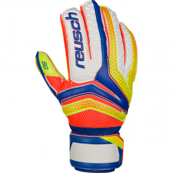 REUSCH golmanske rukavice SERATHOR SG EXTRA BLUE/YELLOW