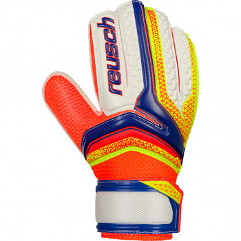 REUSCH golmanske rukavice SERATHOR EASY FIT JUNIOR BLUE/YELLOW