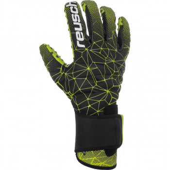 REUSCH rukavice PURE CONTACT II G3 SPEED BUMP BK/GREEN