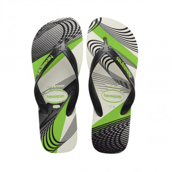 HAVAIANAS japanke AERO GRAPHIC WHITE/BLACK