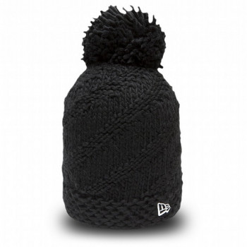 NEW ERA beanie kapa BOBBLE WEAVE NEWERA BLK
