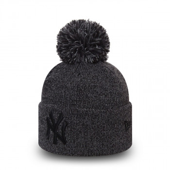 NEW ERA  beanie MARL BOBBLE KNIT NEYYAN GRAGRHBLK