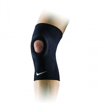 NIKE steznici PRO OPEN-PATELLA KNEE SLEEVE 2.0 BLACK/WHITE