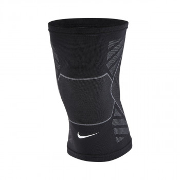 NIKE steznici ADVANTAGE KNITTED KNEE SLEEVE BLACK/ANTHRACITE/WHITE