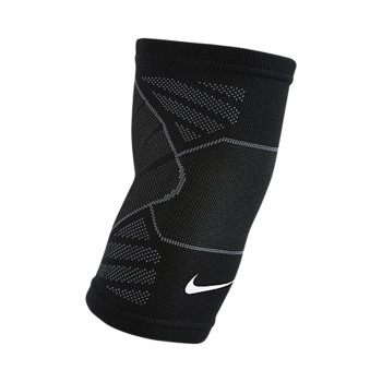 NIKE steznici ADVANTAGE KNITTED ELBOW SLEEVE  BLACK/ANTHRACITE/WHITE