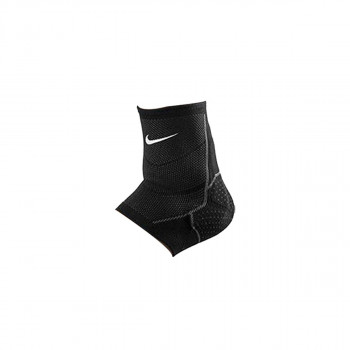 NIKE steznici ADVANTAGE KNITTED ANKLE SLEEVE  BLACK/ANTHRACITE/WHITE