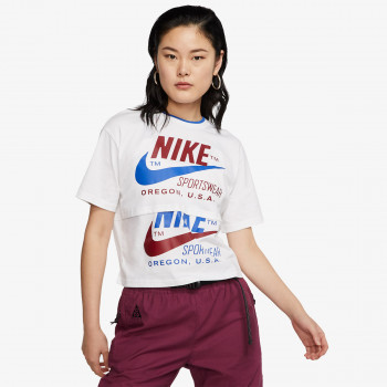 NIKE t-shirt W NSW ICN CLSH SS TOP