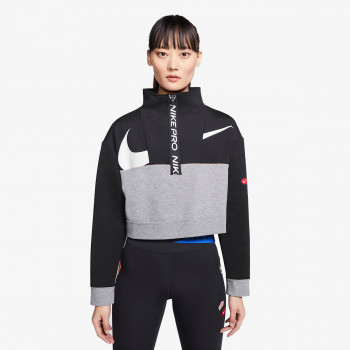 NIKE majica dugih rukava DRY GET FIT FLEECE ICONCLASH