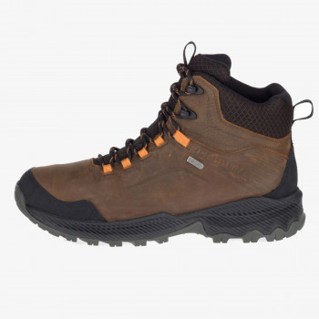 MERRELL čizme J77299 FORESTBOUND MID WP DARK EARTH
