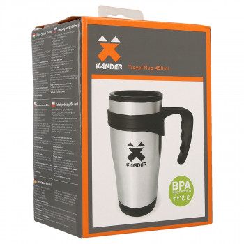 KANDER boca 450ML TVL MUG 00 BRUSHED -