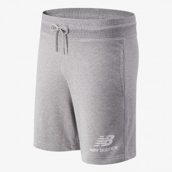 NEW BALANCE shorts ESSENTIALS STACKED LOGO