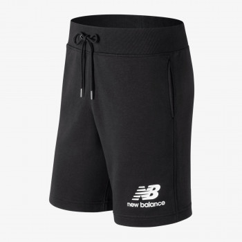 NEW BALANCE shorts ESSENTIALS STACKED LOGO SHORT